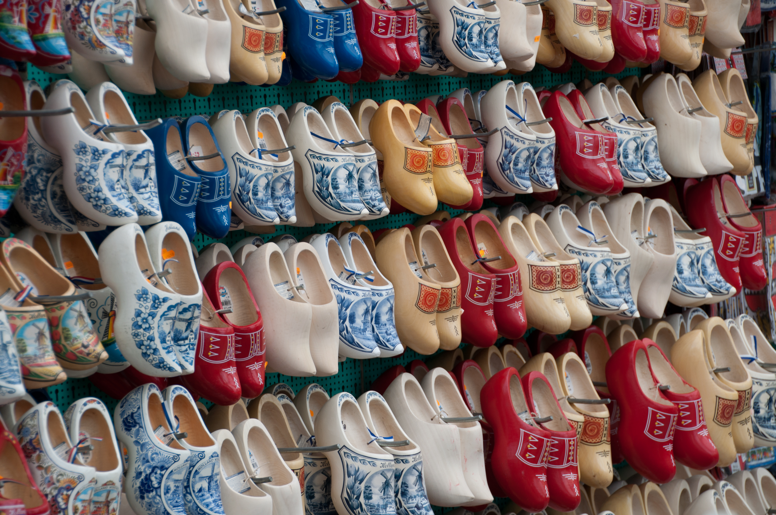 Clogs in Amsterdam, Netherlands