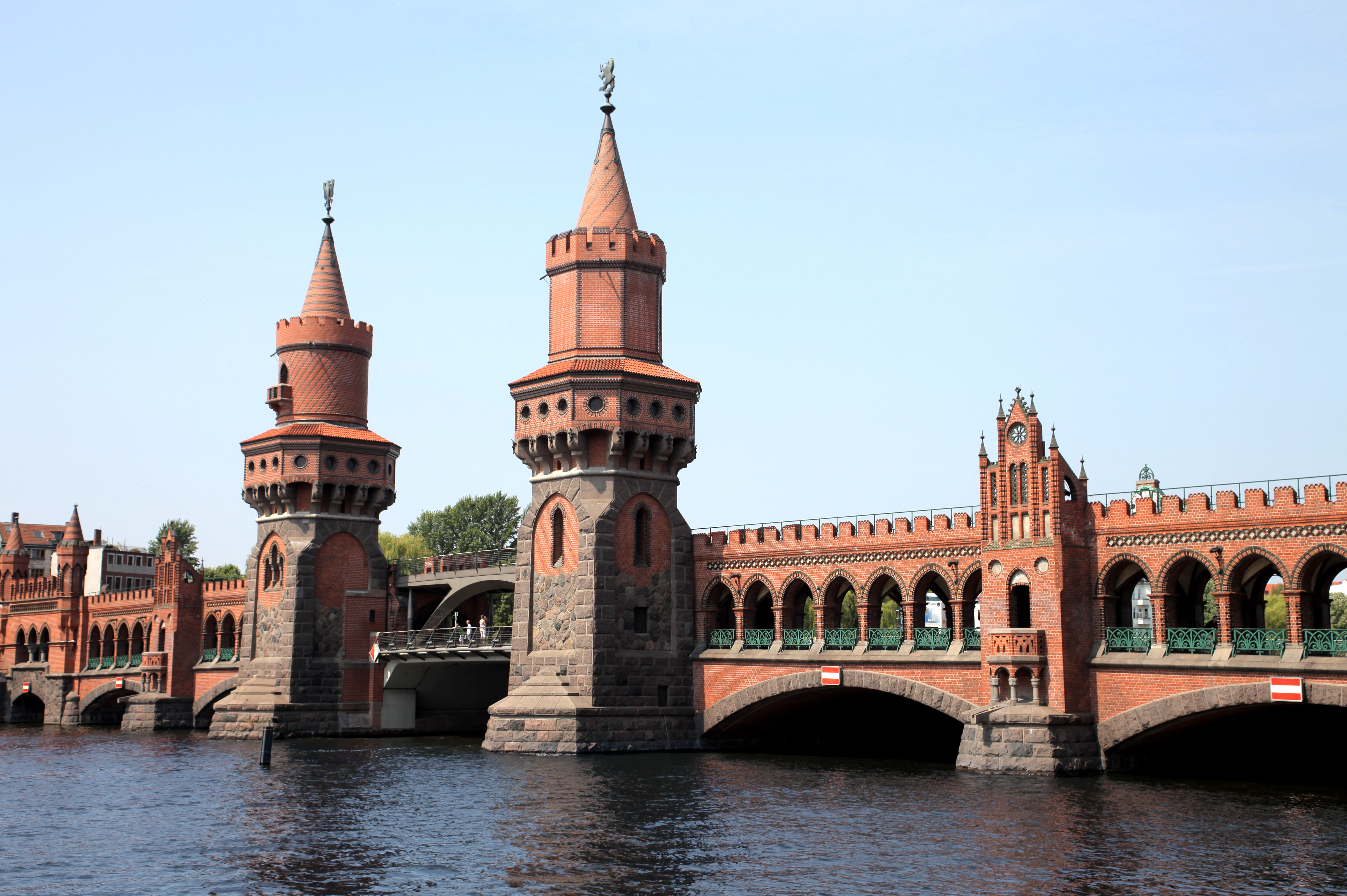 Bridge Oberbaumbruecke in Berlin
