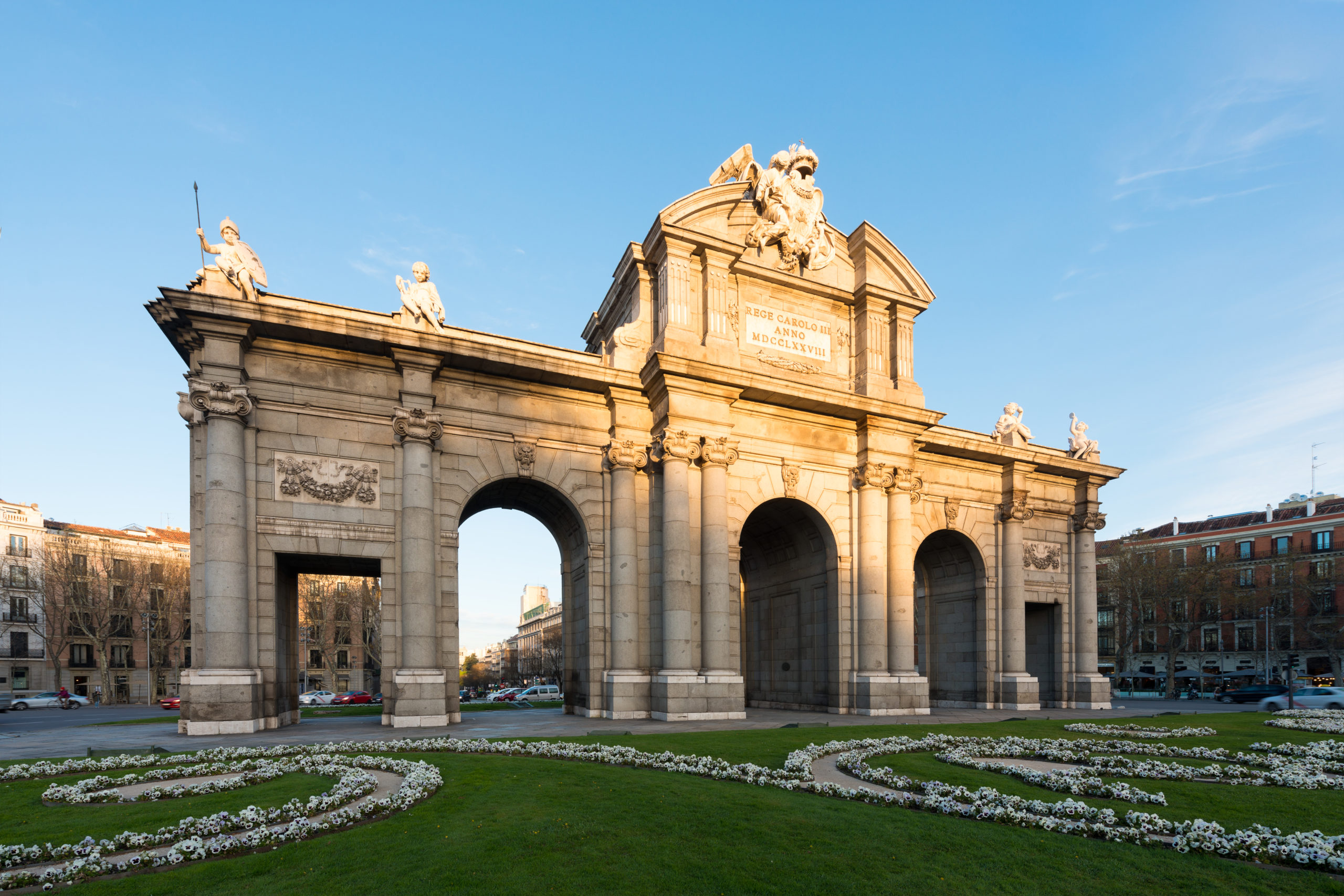 Puerta de Alcala is a one of the Madrid ancient doors of the cit